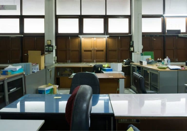 biohazard zones with germs create a dangerous workplace environment