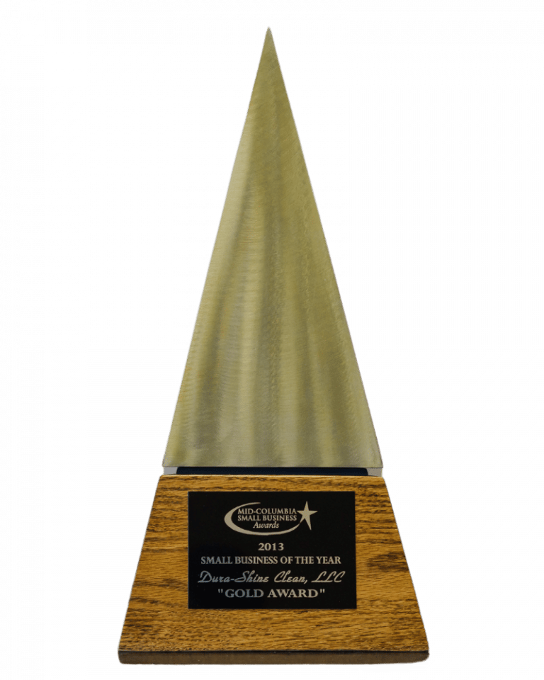 Dura-Shine Small Business of the Year award for Janitorial Services