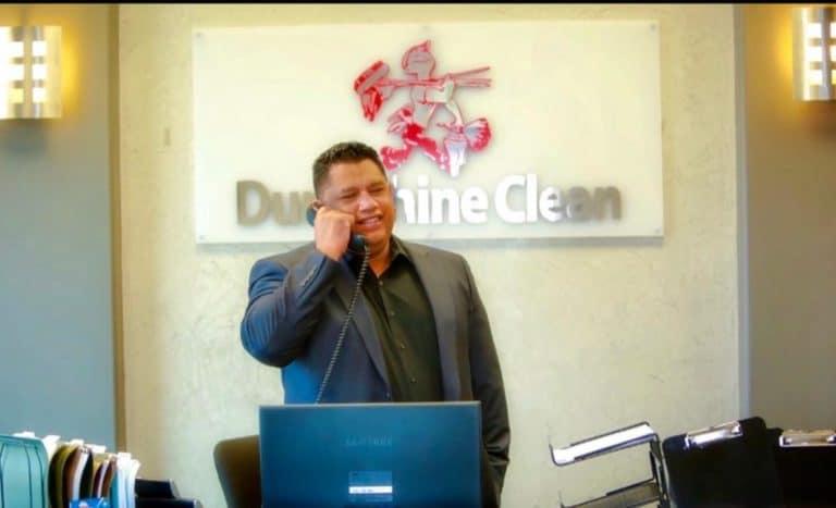 Carlos founder of dura-shine clean is a gStanford Latino Entrepreneurship Initiative Education-Scaling Program Graduate